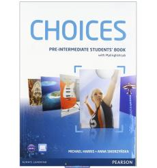 Choices Pre-Intermediate Students' Book and MyLab PIN Code Pack