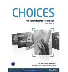 Choices Pre-Intermediate: Workbook with Audio CD