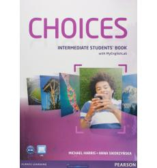 Choices Intermediate Students' Book and MyLab PIN Code Pack