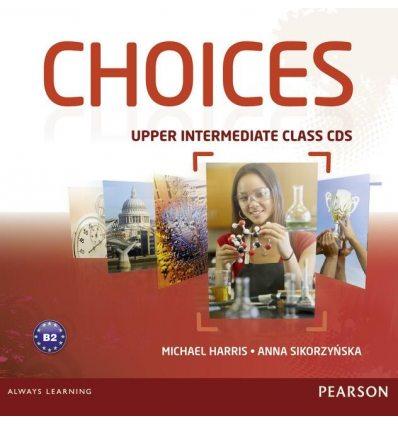 Choices Upper-Intermediate: Class Audio CDs