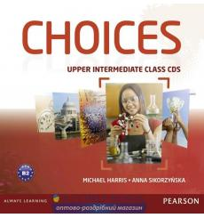 Choices Upper-Intermediate: Class Audio CDs