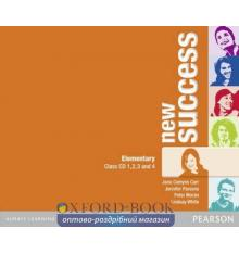 Диск Success New Elementary Class Audio CDs ISBN 9781408249024