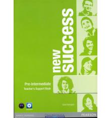 Книга для учителя Success New Pre-Intermediate teachers book with DVD-ROM ISBN 9781408297131