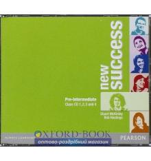 Диск Success New Pre-Intermediate Class Audio CDs ISBN 9781408249277