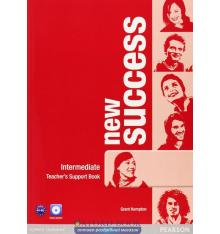 Книга для учителя Success New Intermediate teachers book with DVD-ROM ISBN 9781408297117