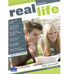 Книга для учителя Real Life Elementary teachers book ISBN 9781405897143