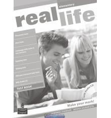 Тесты Real Life Elementary: Test Book with CD-ROM ISBN 9781408243022