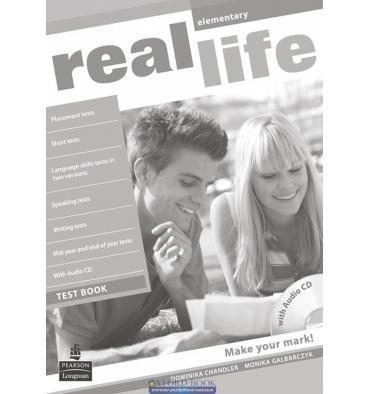 Real Life Elementary: Test Book with CD-ROM