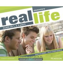 Диск Real Life Elementary Class Audio CDs ISBN 9781405897297