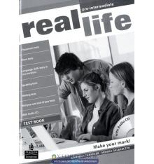 Тесты Real Life Pre-Intermediate: Test Book with CD-ROM ISBN 9781408243046