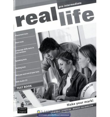 Real Life Pre-Intermediate: Test Book with CD-ROM