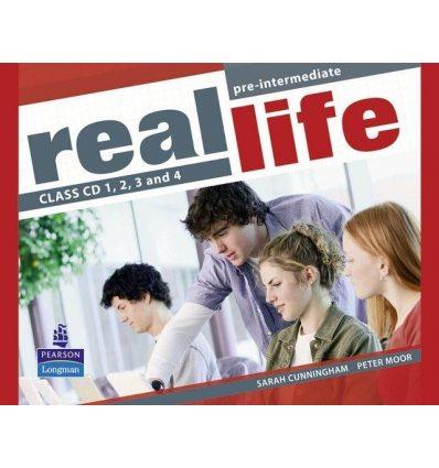 Диски для класса Real Life Pre-Intermediate: Class Audio CDs 9781405897310 купить Киев Украина