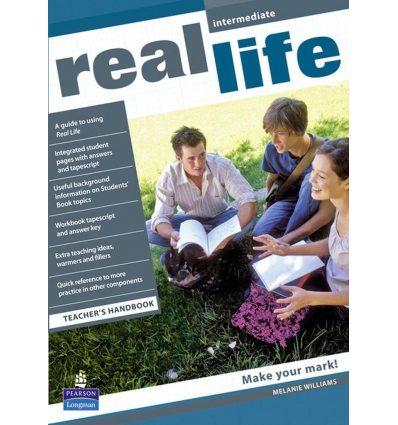 Книга для учителя Real Life Intermediate teachers book 9781405897150 купить Киев Украина