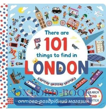 Книга There Are 101 Things to Find in London ISBN: 9781529023299