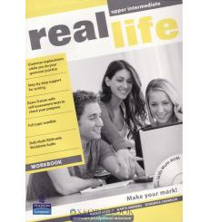 Real Life Upper-Intermediate: Workbook with Multi-ROM