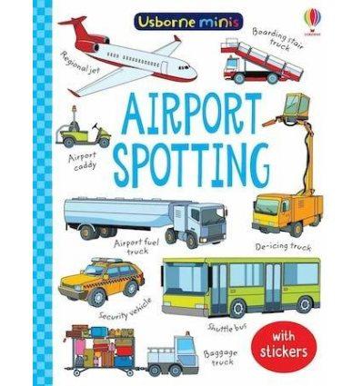 Книга с наклейками Airport Spotting ISBN: 9781474981033