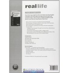 Real Life Advanced: Test Book with CD-ROM