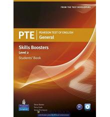 Учебник Pearson Test of English (PTE) General Skills Booster Students Book Level 2 ISBN 9781408267820