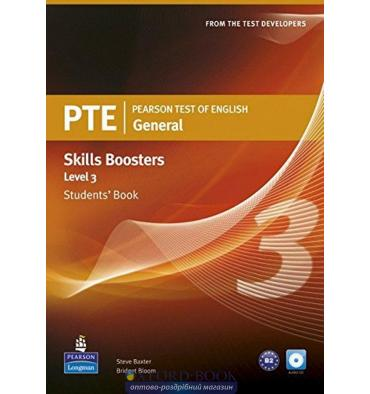 Pearson Test of English (PTE) General Skills Booster Students' Book Level 3