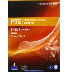 Учебник general skills booster Students Book level 4 pearson test of english (pte) ISBN 9781408267844