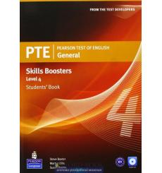 Учебник general skills booster Students Book level 4 pearson test of english (pte) ISBN 9781408267844 купить Киев Украина