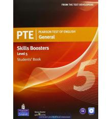 Учебник Pearson Test of English (PTE) General Skills Booster Students Book Level 5 ISBN 9781408267851