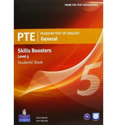 Учебник Pearson Test of English (PTE) General Skills Booster students book Level 5 9781408267851 купить Киев Украина