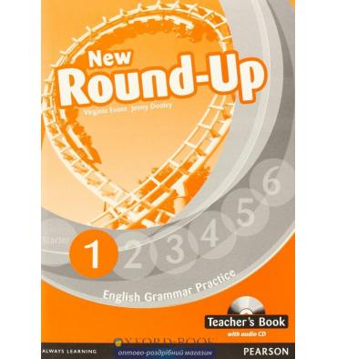 New Round Up 1: Teacher's Book with Audio CD