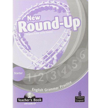 New Round Up Starter: Teacher's Book with Audio CD