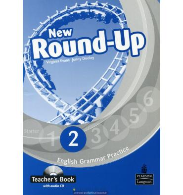 New Round Up 2: Teacher's Book with Audio CD