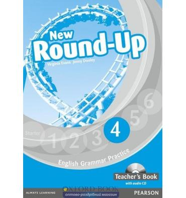 New Round Up 4: Teacher's Book with Audio CD