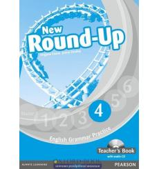 Книга для учителя Round Up New 4 teachers book ISBN 9781408234983 купить Киев Украина