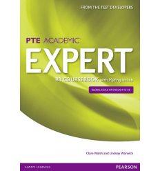 Учебник Expert PTE Academic B1 Coursebook +MEL 9781447962021