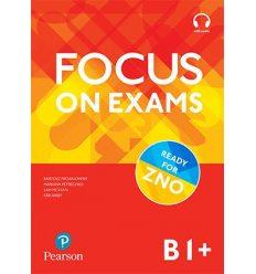 Учебник Focus on exams B1+  (красные) MKT-00000555