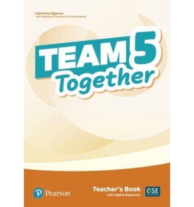 Team Together 5 Teachers book +Digital Resources 9781292312224