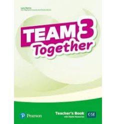 Team Together 3 Teachers book +Digital Resources 9781292312200