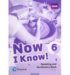Now i Know 6 Speaking and Vocabulary Book 9781292219837 купить Киев Украина