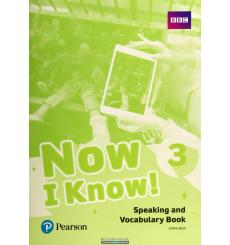 Now i Know 3 Speaking and Vocabulary Book 9781292219509 купить Киев Украина