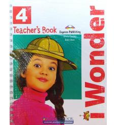 Книга для учителя i-WONDER 4 TEACHERS BOOK (WITH POSTERS) (INTERNATIONAL) ISBN 9781471570483 купить Киев Украина
