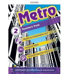 Книга для учителя Metro 2 Teachers book 9780194016872 купить Киев Украина