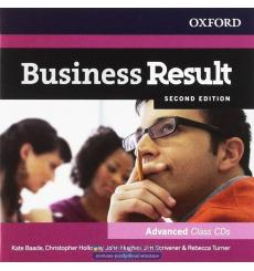 Аудио диск Business Result Second Edition Advanced Class CDs Christopher Holloway, Jim Scrivener, Kate Baade ISBN 9780194739146