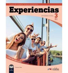 Experiencias Internacional B1. Libro de ejercicios + audio descargable 9788490813928