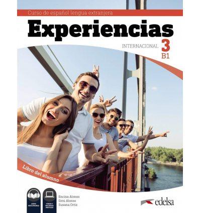 Experiencias Internacional B1. Libro del alumno + audio descargable 9788490813935 купить Киев Украина