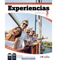 Experiencias Internacional B1. Libro del alumno + audio descargable 9788490813935 купить Киев Украина