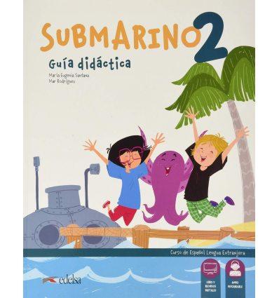 Submarino 2 Guia didactica with Audio descargable 9788490811085 купить Киев Украина
