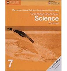 Тетрадь Cambridge Checkpoint Science 7 workbook 9781107622852