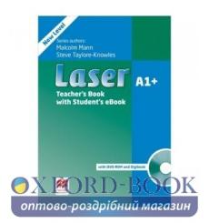 Книга для учителя Laser 3rd edition a1+ Teachers Book + eBook Pack 9781786327178 купить Киев Украина