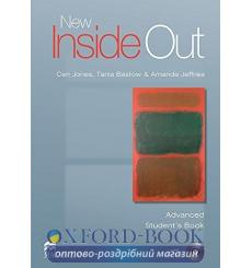 Учебник New Inside Out Advanced Students Book with CD-ROM Amanda Jeffries, Ceri Jones, Tania Bastow ISBN 9780230009271 купить...