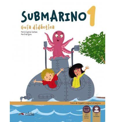 Submarino 1 Guia didactica with Audio descargable 9788490811030 купить Киев Украина
