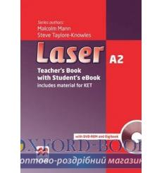 Книга для учителя Laser a2 Teachers Book + eBook Pack 3rd Edition 9781786327185 купить Киев Украина